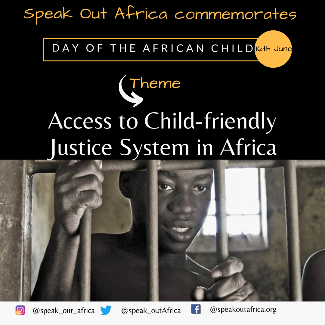14 year old Miss J spent three years in jail awaiting trial…Seeking a child friendly justice system for the African child